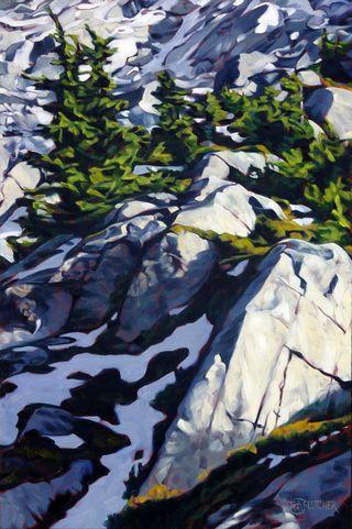 Alpine Light - featured image 24x36, $950