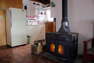 Kitchen and Woodstove