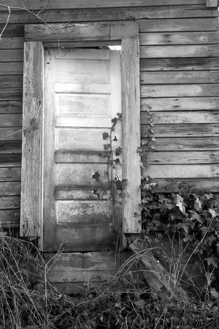 Old Door on Logen Road. Jeffrey High photo